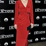 Anna Faris posed on the red carpet for the premiere of  The Dictator.