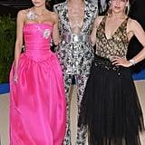 Lily-Rose Depp, Cara Delevingne, and Jemima Kirke