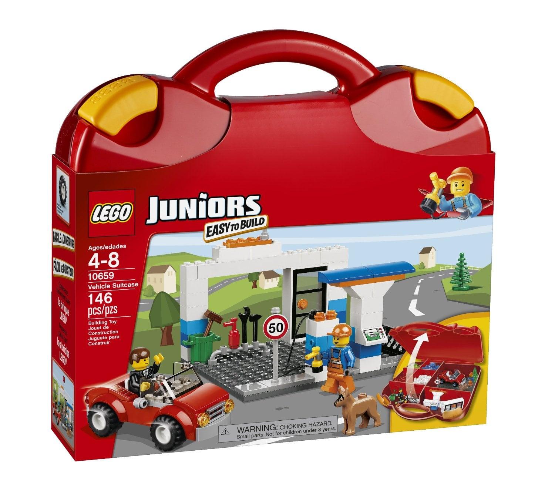 Lego Juniors Vehicle Suitcase