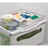 InterDesign Fridge and Freezer Storage Tray in Large Clear