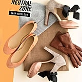 Stick to head to toe neutrals for a creamy, tonal look.