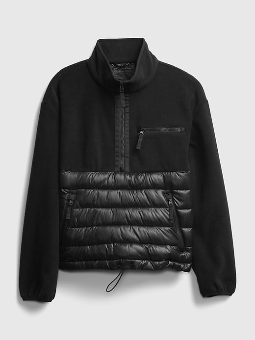 Gap GapFit Fleece Puffer Jacket