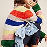 Gloria Striped Turtleneck Sweater