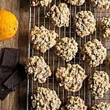 Orange Chocolate Chunk Oatmeal Cookies