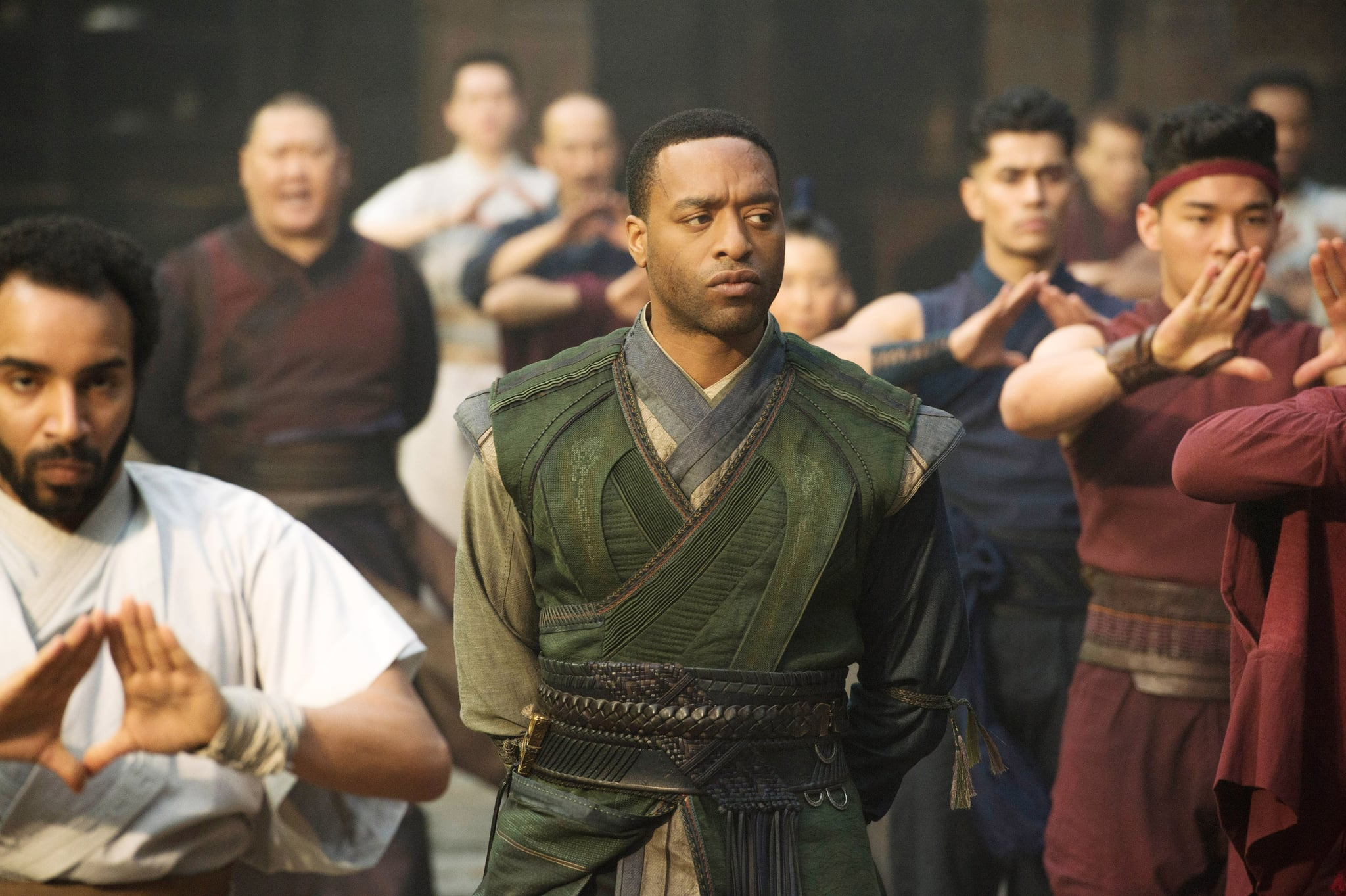 DOCTOR STRANGE, Chiwetel Ejiofor, as Mordo (center), 2016. ph: Jay Maidment /  Walt Disney Studios Motion Pictures /Courtesy Everett Collection