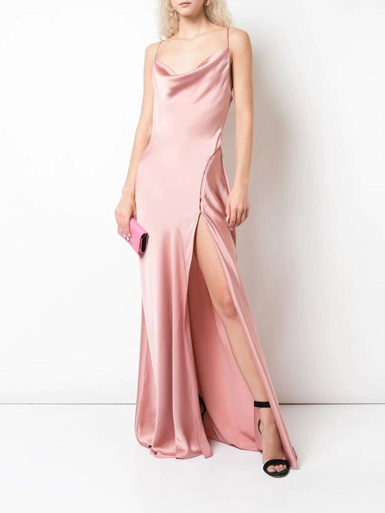 Jonathan Simkhai Sleeveless Cowl-Neck Dress