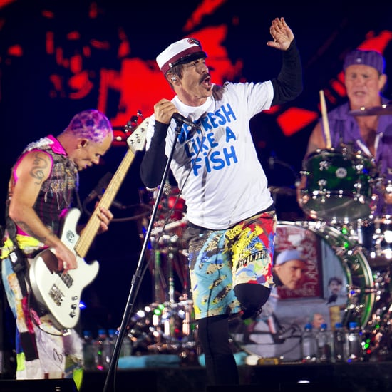 Red Hot Chili Peppers Abu Dhabi UFC Performace