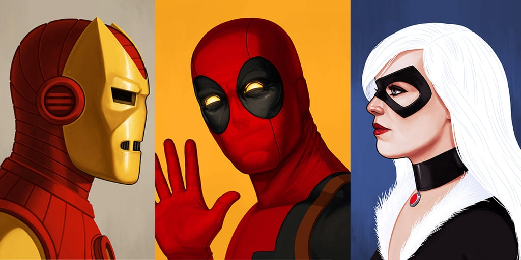 Mike Mitchell's Marvel GIFs