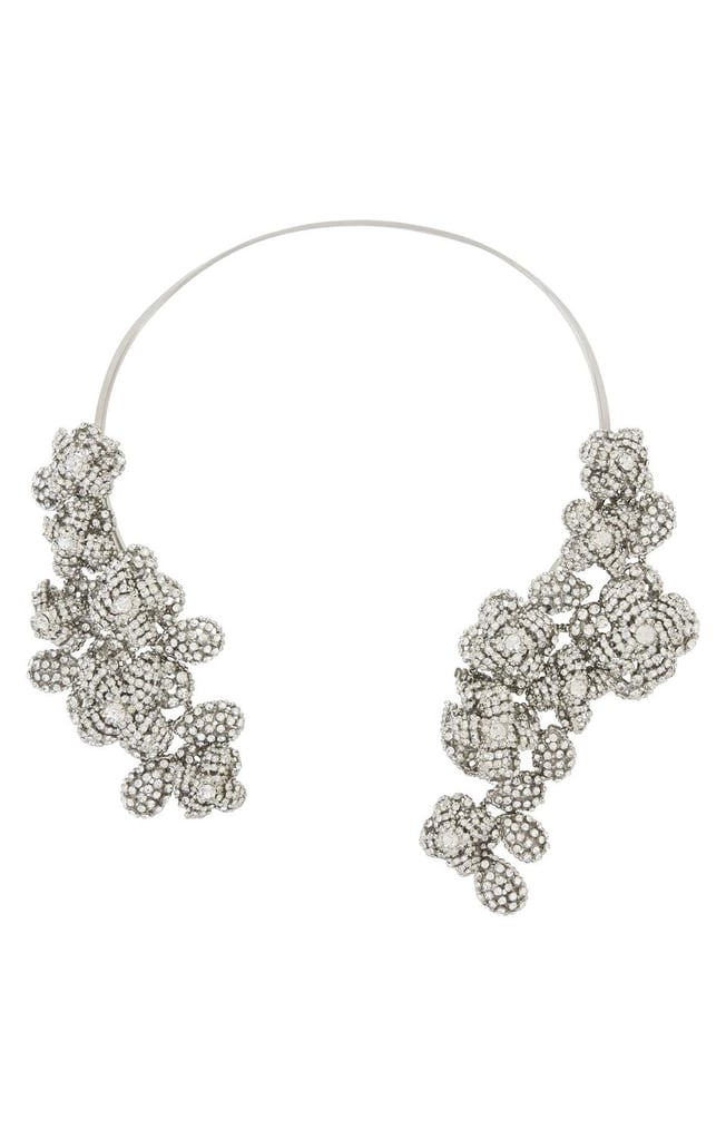 This BCBG Max Azria sparkler ($198) will be all the dazzle you need this holiday season. Work it with a festive strapless dress, or layer it over a slim black turtleneck and jacquard trousers. — Mandi Villa, contributing editor