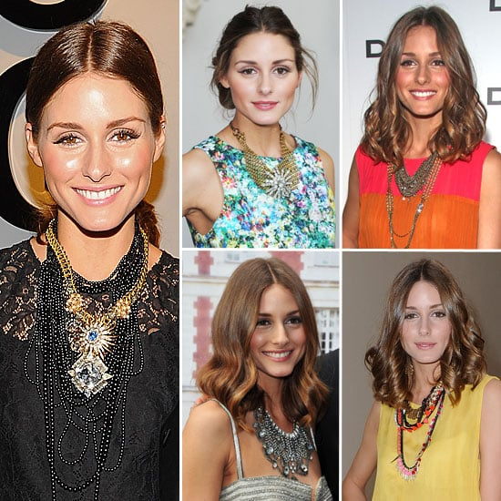 We took a look at Olivia Palermo's chunky necklaces.