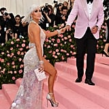 Jennifer Lopez and Alex Rodriguez at the 2019 Met Gala