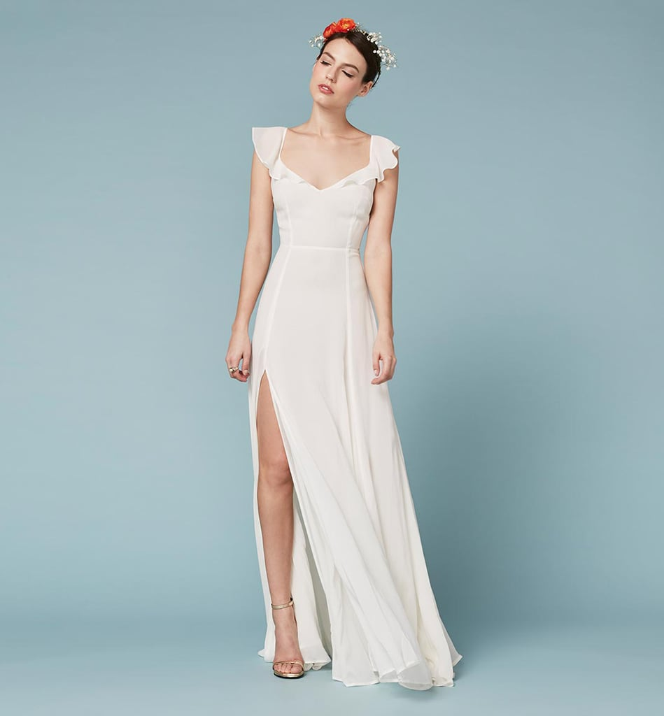 Reformation Julieta Dress ($388) | Wedding Dresses That Flatter ...