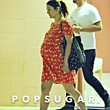 Pregnant Drew Barrymore With Her Husband | Pictures