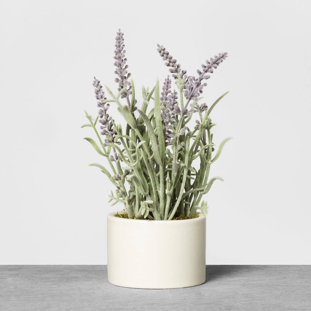 Hearth & Hand With Magnolia Faux Lavender Potted Plant