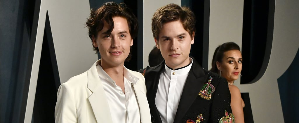 Cole and Dylan Sprouse Suits Vanity Fair Oscars Afterparty