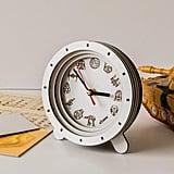Star Wars White Clock