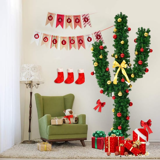 Amazon Sells Cute Cactus Christmas Trees For the Holidays