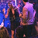 Newly Engaged LeAnn and Eddie Share Midnight Kisses and Hot PDA!