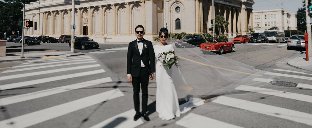 This Moody San Francisco Wedding Had the Best of Both Worlds: A Chic Dinner Party and '90s Rap