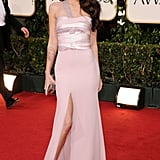 Megan Fox in Armani Privé at the 2011 Golden Globes