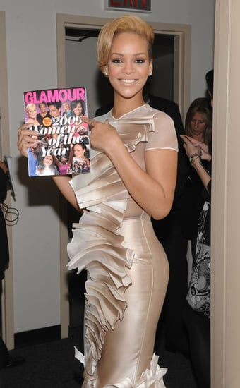 Rihanna attends the Glamour magazine Women of the Year Honors