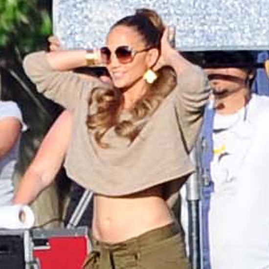 Jennifer Lopez Flashes Her Midriff in Argentina Pictures
