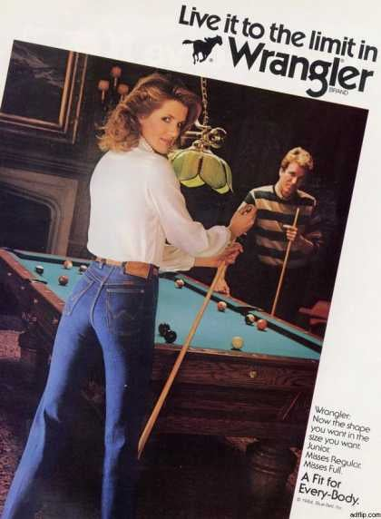 "He's just checking out her ""pool skills."""