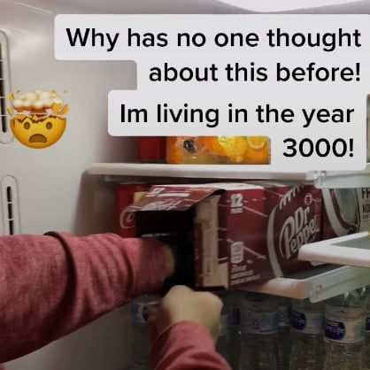 This Soda Can Organizational Hack Is Genius