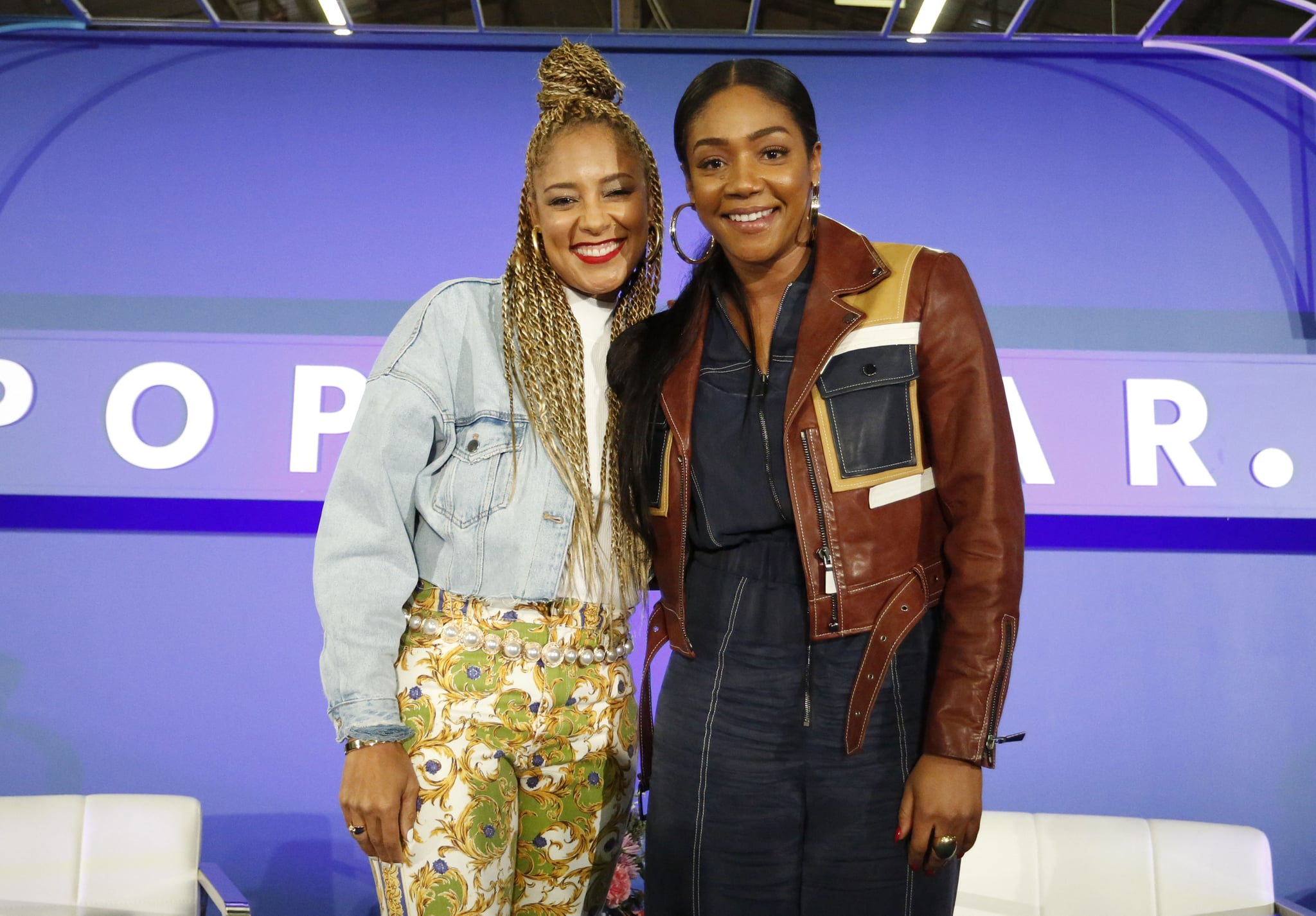 Pictured: Amanda Seales and Tiffany Haddish