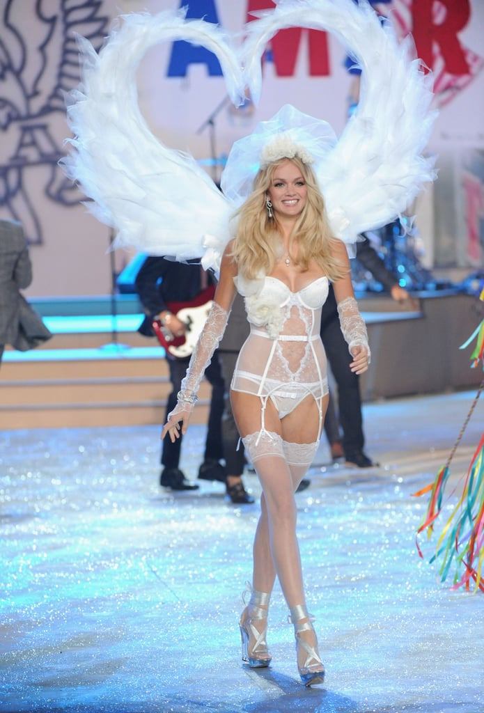Lindsay Ellingson walked in the Victoria's Secret Fashion Show in NYC.