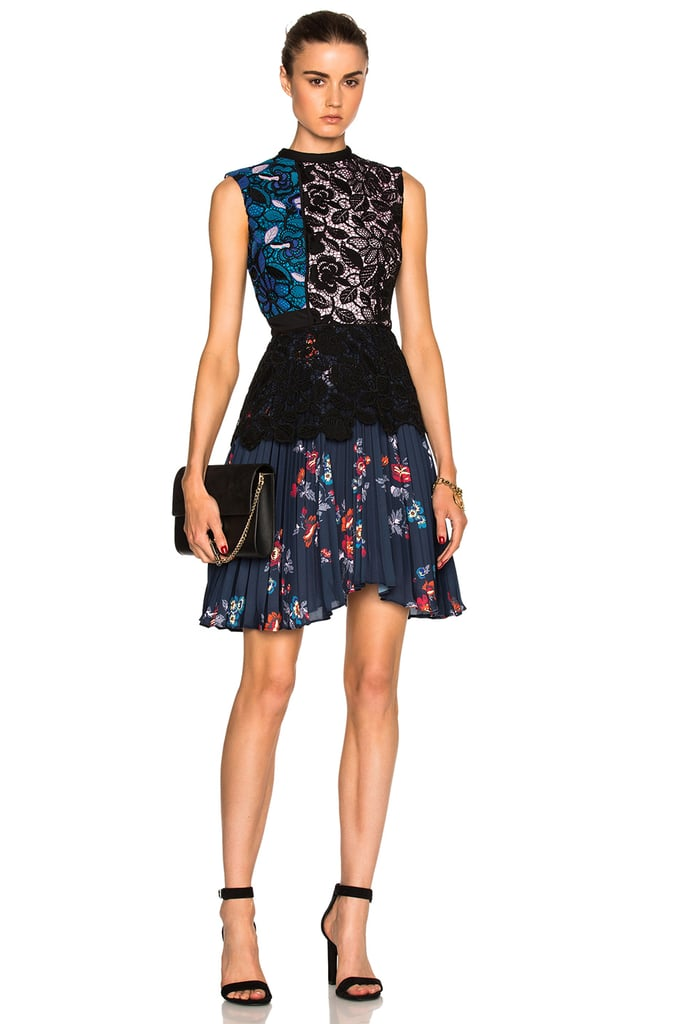 Self-Portrait Nina Pleated Mini Dress ($495)