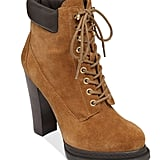 BCBGeneration Martins High Heel Combat Booties ($139)