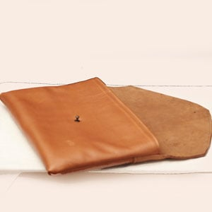 MacBook Air Leather Envelope Clutch