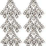 Dannijo Penny Crystal Chandelier Earrings ($445)