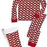 Burt's Bees Baby Two-Piece Pajamas and Matching Stocking