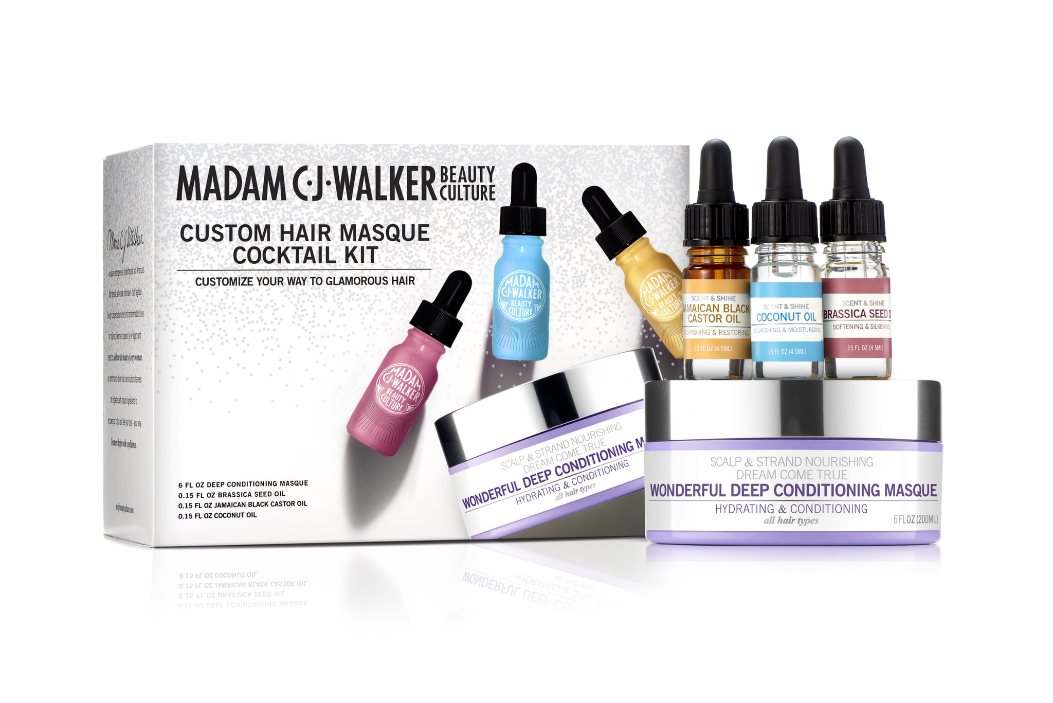 Madam C J Walker Beauty Culture Custom Hair Masque Cocktail Kit 13 Holiday Gift Sets That All Brown Beauties Should Snap Up This Season Popsugar Beauty Photo 11