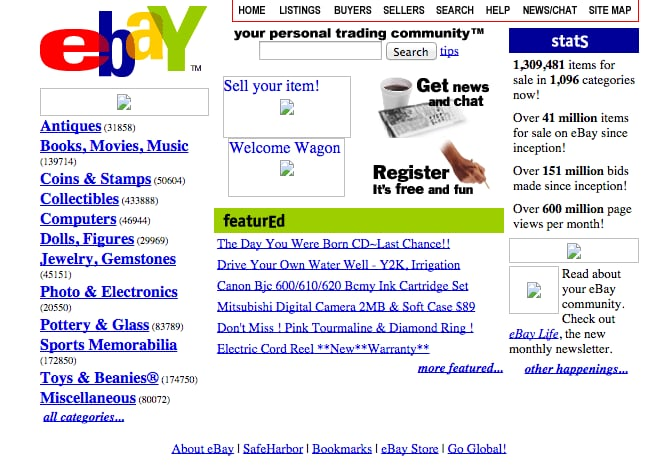 Ebay 9 Things That Turn 20 This Year Prepare To Feel Old Popsugar Tech Photo 6