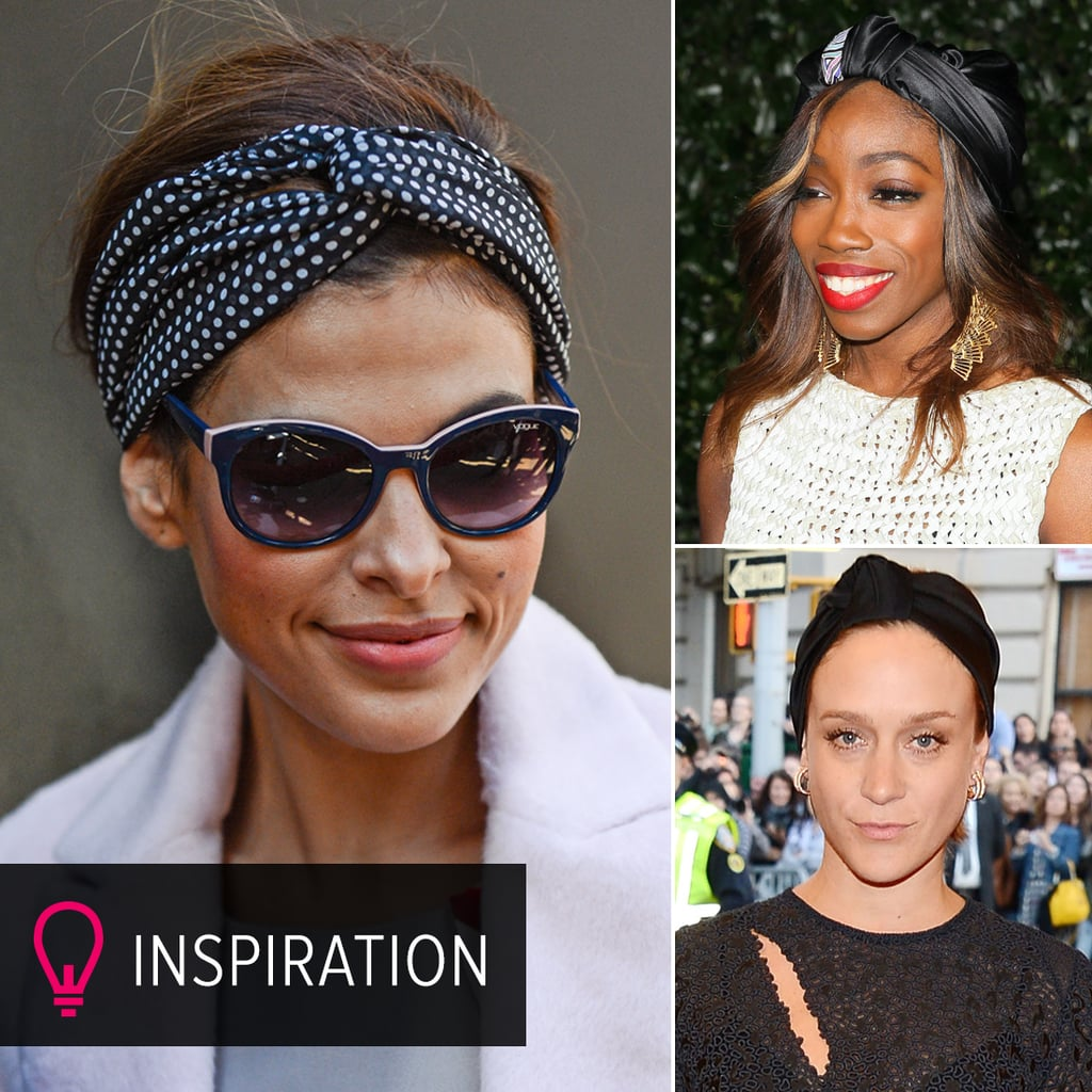 Black Turbans and Headbands to Inspire Your Autumn Look