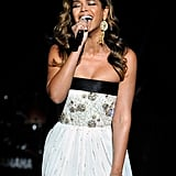 Beyoncé's vocal range spans 3.6 octaves and is classified as mezzo-soprano.