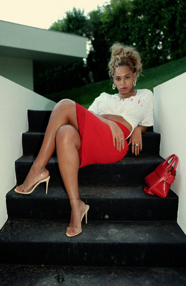 If You Want to Know What Trend Beyoncé's Most Excited About, Look Down at Her Feet
