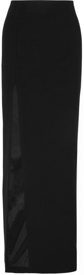 Elizabeth and James Avita Stretch-Jersey Maxi Skirt ($395)