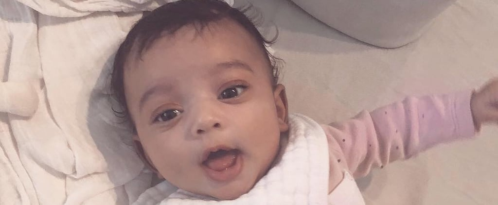 "Kim Kardashian Shares a Sweet Photo of Chicago West on Instagram: ""Morning, Cutie"""