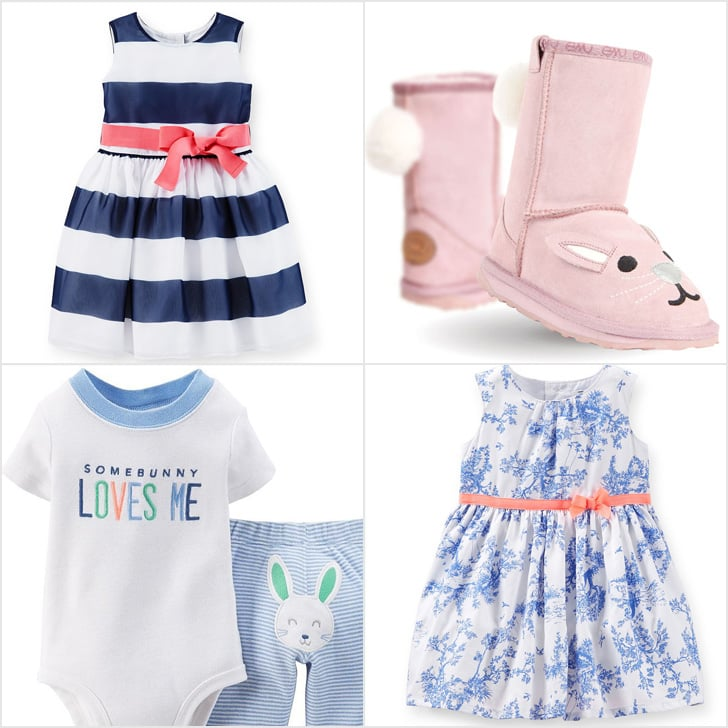 Newborn Just One You Carter/'s My First Easter Bunny Outfit 2-Piece Set