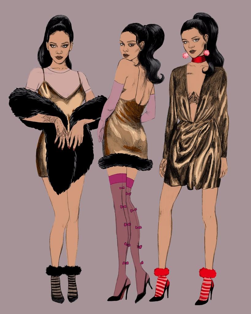 Rihanna Stance Socks Collection Fall 2016