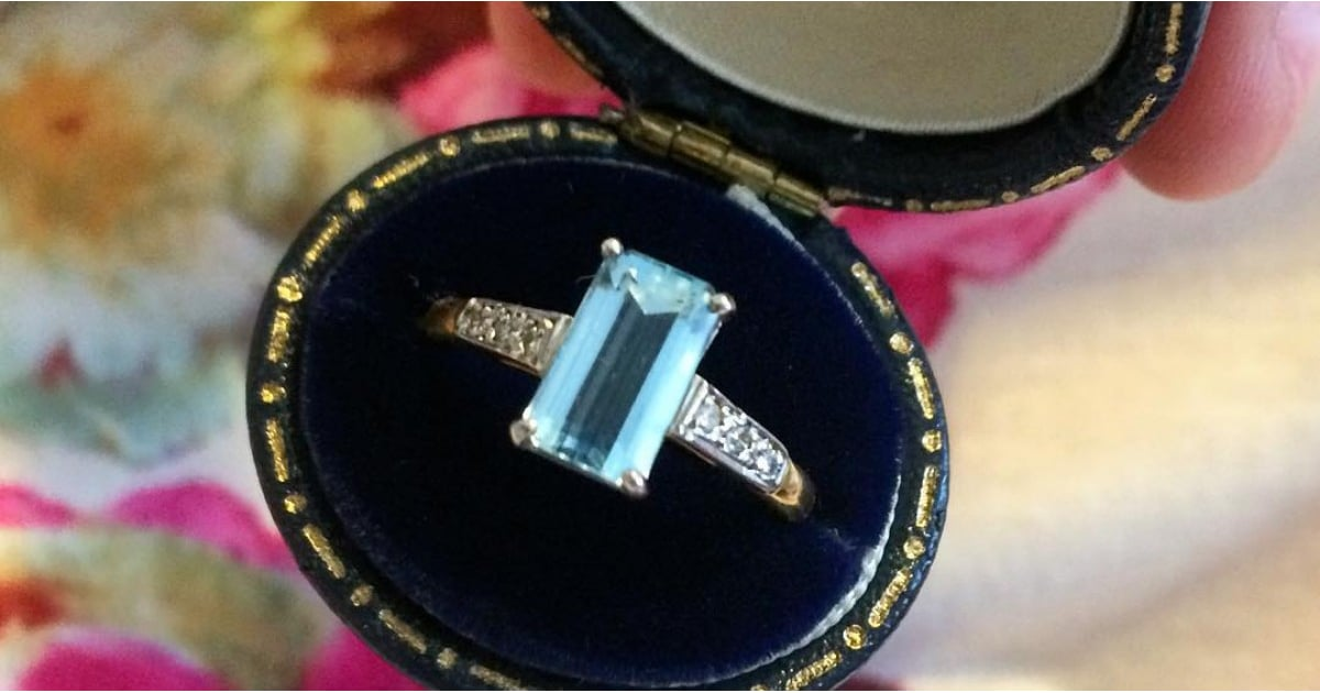 These Coloured Engagement Rings Will Make You Forget All About Diamonds