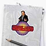 Threat Level Midnight Office Sticker