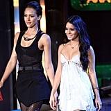 Jessica Alba and Vanessa Hudgens were presenters in 2010.