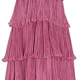 Gucci Appliquéd Plissé Silk-Chiffon Gown ($11,000)