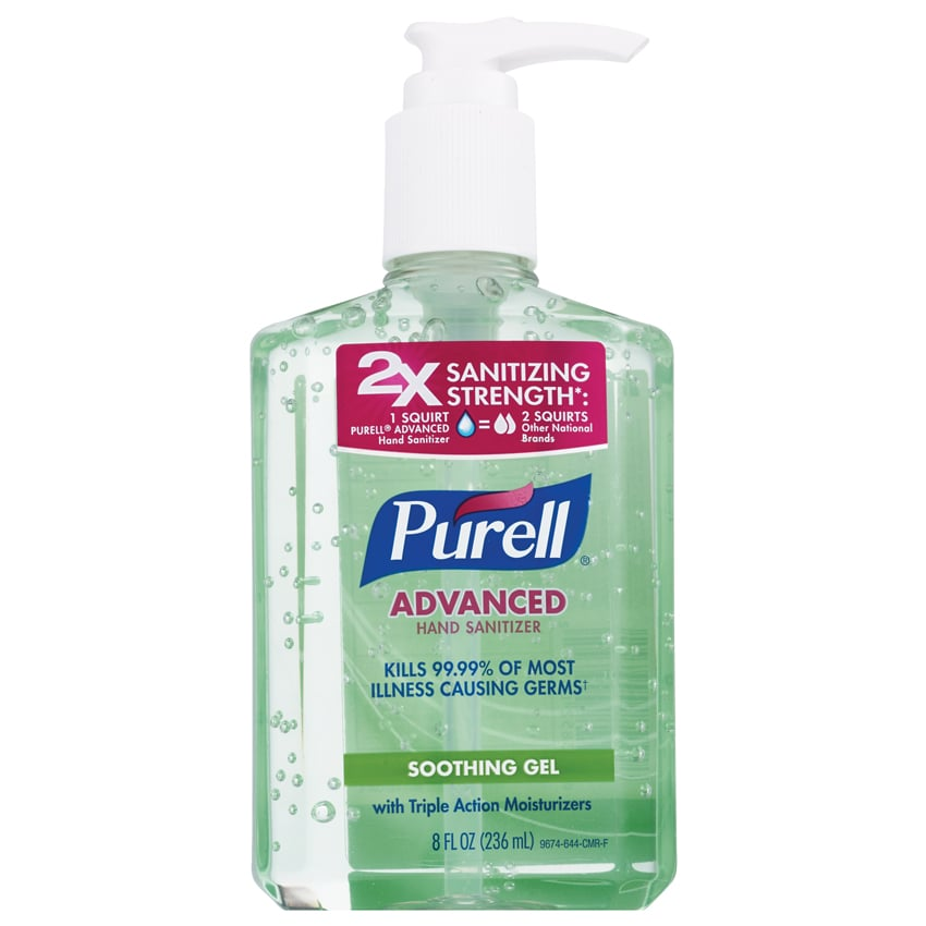 Purell Advanced Hand Sanitizer Soothing Gel with Aloe and Vitamin E