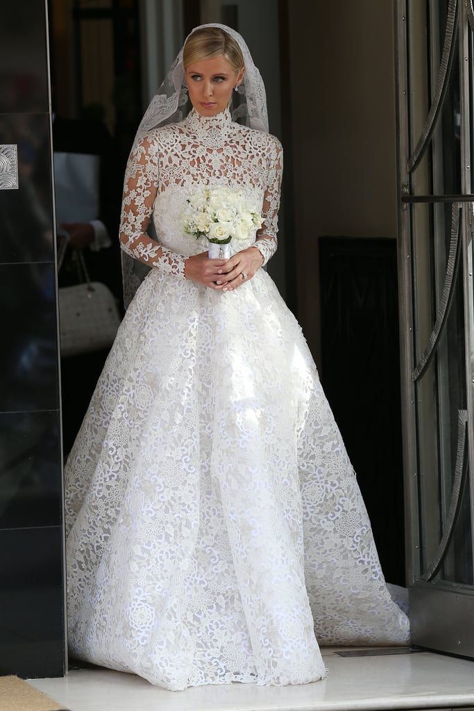 Nicky Hilton got married in a very modest Valentino gown.